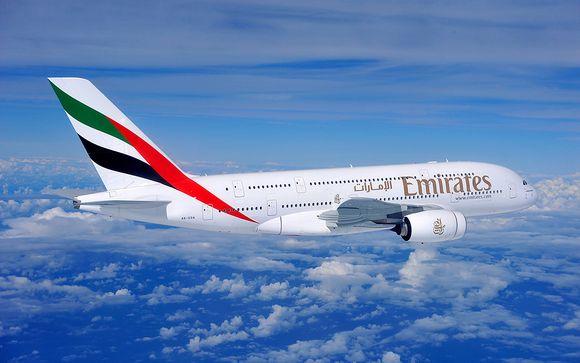 Envolez-vous avec la compagnie Emirates en classe Affaires