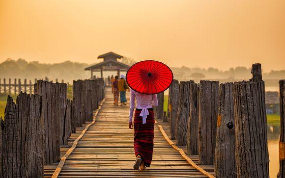 Circuit avec croisière Douceur Birmane - 9 nuits/10 jours