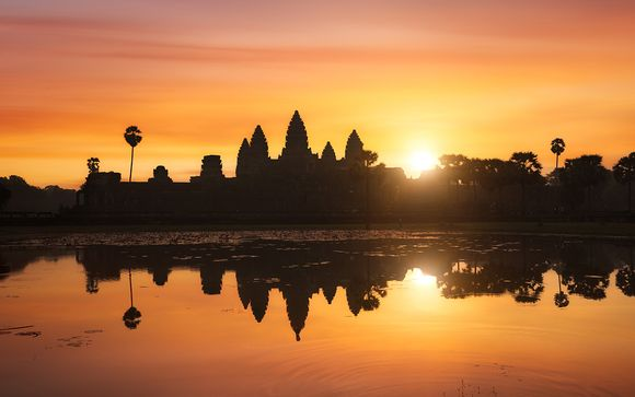 Circuit privatif Des Temples d'Angkor aux plages du Siam en 5*
