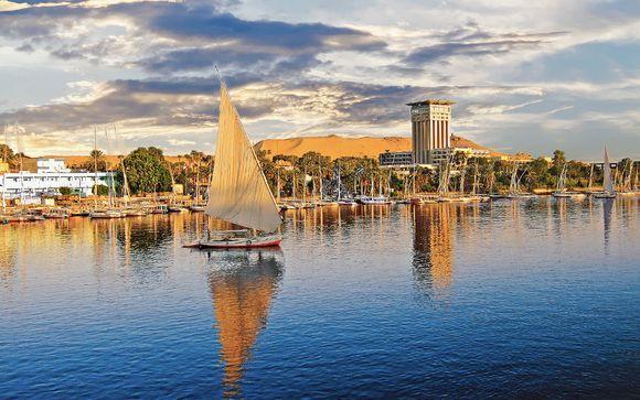 Croisière sur le Nil et Hôtel Albatros Citadel Sahl Hasheesh 5*