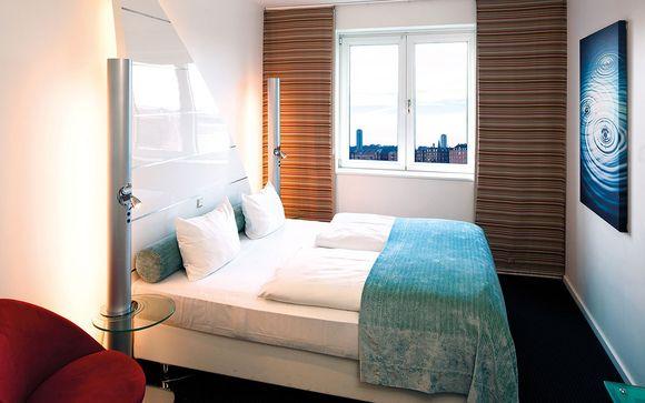 Poussez les portes de l'hôtel Copenhagen Island 4* à Copenhage