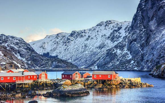 Aurores boréales, fjords et baleines...