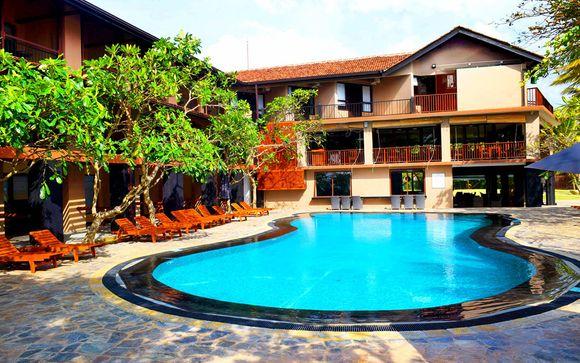 Votre extension à l'hôtel Earl's Reef Beruwala 4*