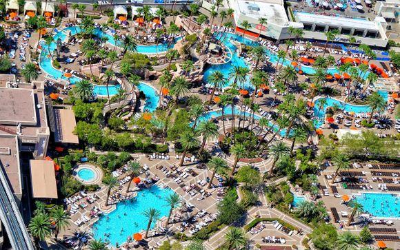 Poussez les portes de l'hôtel 4* MGM Grand Las Vegas