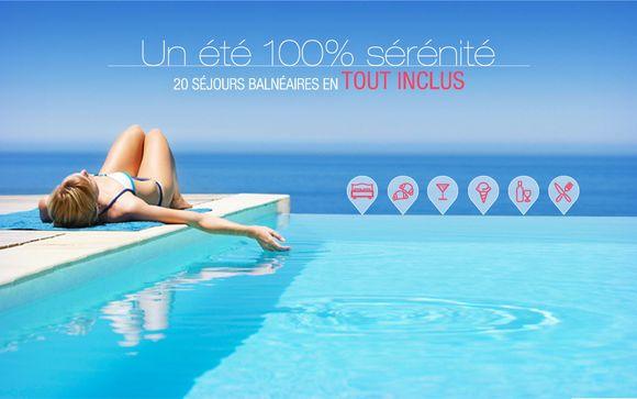 20 séjours balnéaires en tout inclus pour un été 100% sérénité