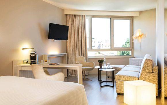 Poussez les portes de l'hôtel Oceania Clermont-Ferrand 4*