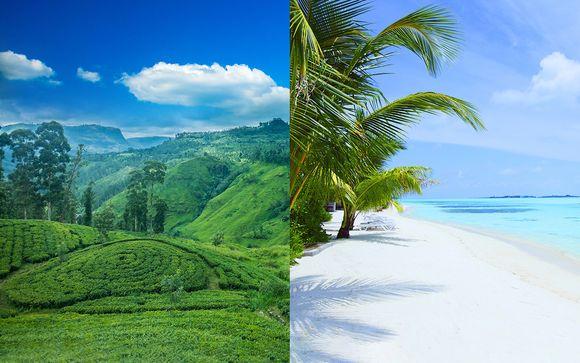 Découverte du Sri Lanka et extension 4* aux Maldives
