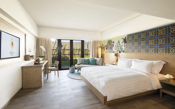 Poussez les portes de l'hôtel Ashta Resort Canggu 4*