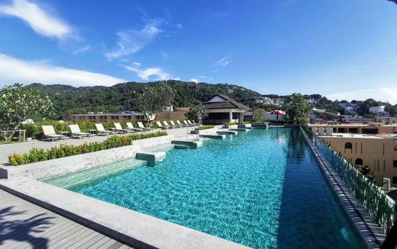 Poussez les portes de l'hôtel Kata Palm Resort 4*