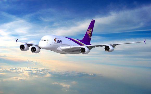 Offrez-vous le luxe de l'A380 avec Thaï Airways