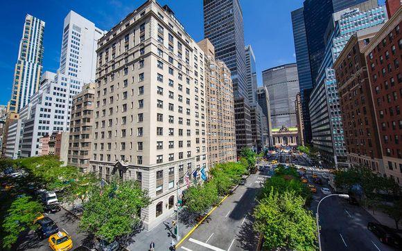 Poussez les portes de l'hôtel Iberostar 70 park Avenue 4* à NY