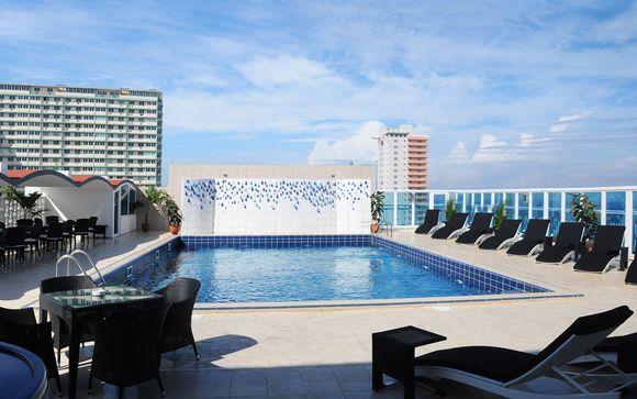 Poussez les portes de l'hôtel NH Capri 4* à La Havane