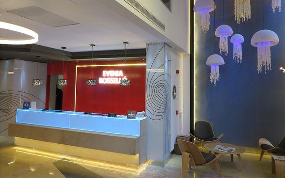 Poussez les portes de l'hôtel Evenia Rossello à Barcelone