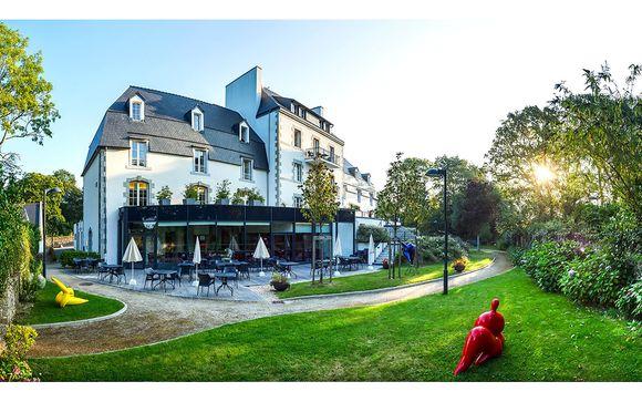 Poussez les portes de la Résidence Le Domaine de Pont Aven Art Gallery Resort