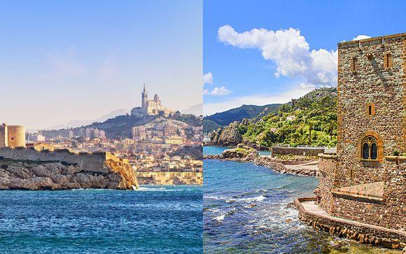 Combiné 4* Villa Massalia Marseille et Pullman Cannes