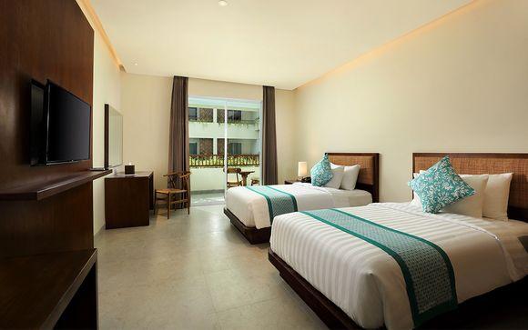 Poussez les portes de l'hôtel Anja Jimbaran 4* à Jimbaran