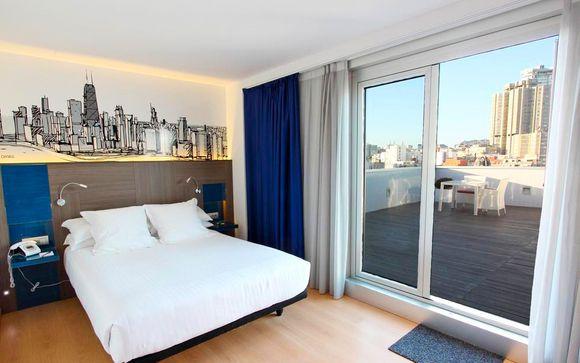 Poussez les portes de l'hôtel Blue Coruña 4*
