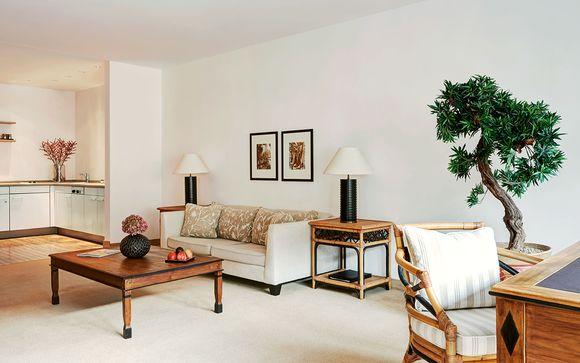 Design épuré pour séjour luxueux et privé...