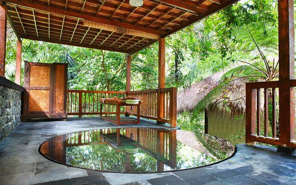 Poussez les portes de l'hôtel Nandini Resort à Ubud