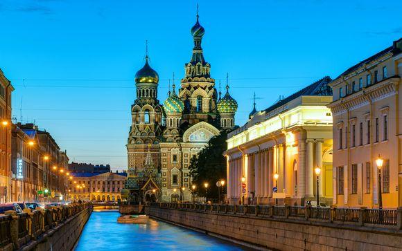 Croisière de Saint-Pétersbourg à Moscou