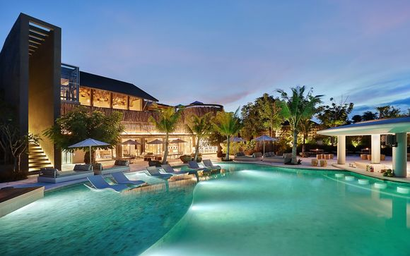 Poussez les portes de l'hôtel X2 Bali Breakers 5* à Jimbaran