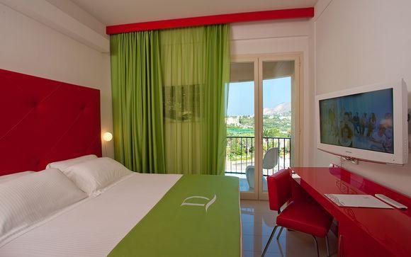 Poussez les portes de l'hôtel Domina Zagarella 4* à Palerme