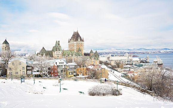 Un hiver au Québec