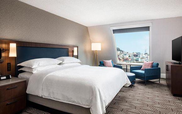 Poussez les portes de l'hôtel Riu Plaza Fisherman´s Wharf 4* à San Francisco