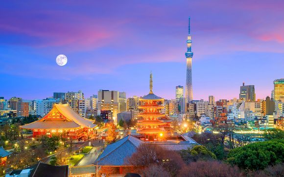 Combiné 4* Tokyo et Kyoto, avec ou sans nuit en Ryokan