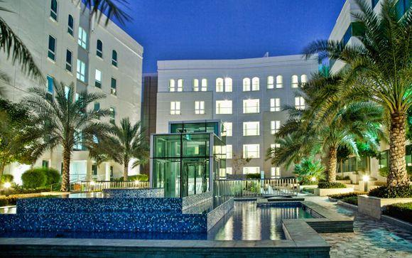 Poussez les portes du Millennium Executive Apartments Muscat 4*
