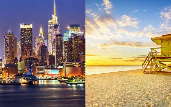 Combin� Gregory Hotel New York 4* et Four Seasons Miami 5*