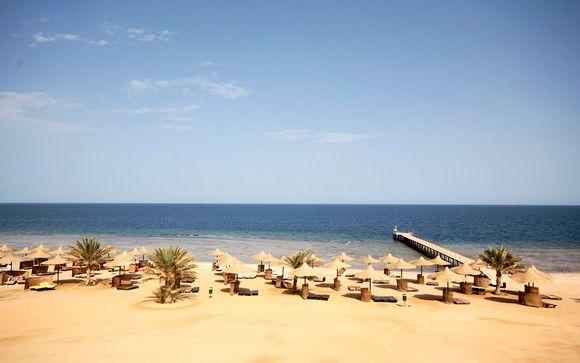 Three Corners Sea Beach 4* ou combiné croisière Rêverie du Nil