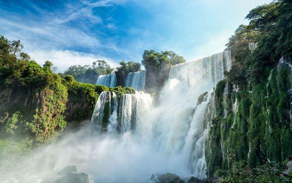 Hôtel Principado Downtown 4* et Chutes d'Iguazú possible