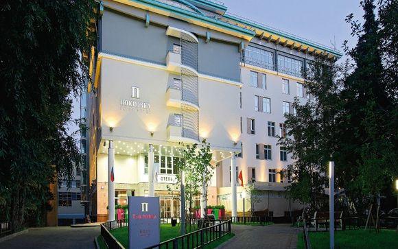 Poussez les portes de votre Hôtel Pokrovka 5*