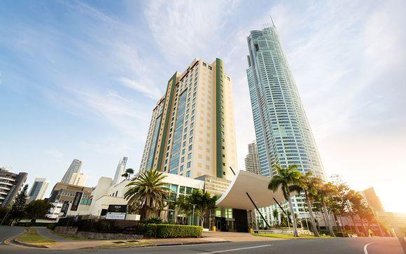 Poussez les portes de votre hôtel à la Gold Coast