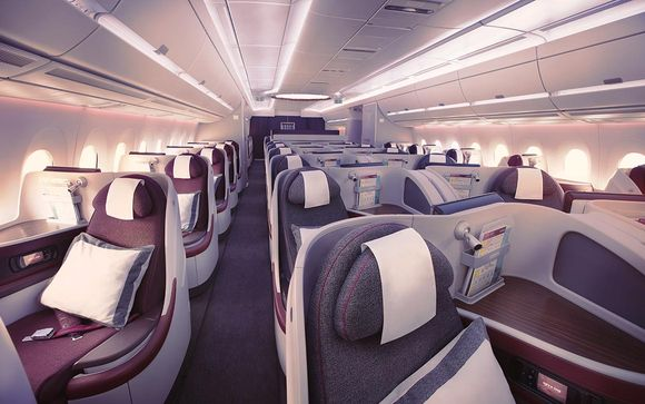 Offrez-vous le luxe d'un vol avec Qatar Airways