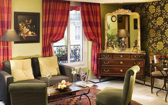 Poussez les portes de l'Hôtel Royal Saint Germain