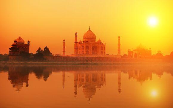 D�couverte d'Agra depuis l'h�tel Crown Plaza Okhla New Delhi 5*