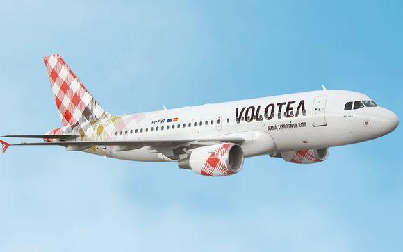 Offrez-vous un vol direct avec Volotea