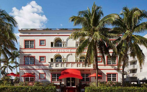 Sistemazione a Miami - Hotel Casa Claridge o similare