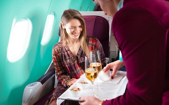 Regalatevi il comfort di un volo con Air Italy