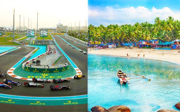 Gran Premio di F1 ad Abu Dhabi e crociera in Asia