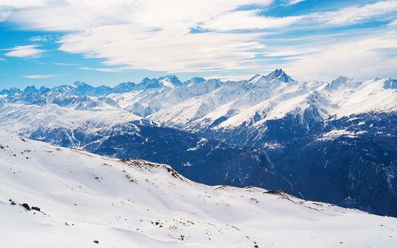 La stazione sciistica di Val Cenis