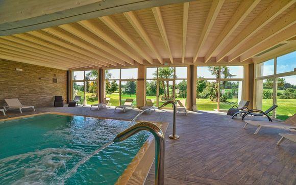 Magnifico golf Resort con SPA a due passi dal Lago di Garda