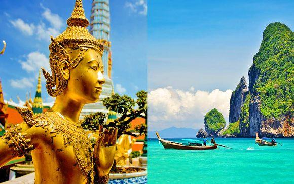 Column Hotel 4* a Bangkok + Metadee Resort & Villas 5* a Phuket