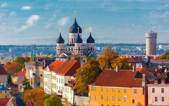 Scoprire Tallinn & Helsinki con trasferimento in traghetto