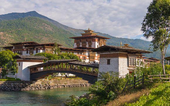 L'estensione in Bhutan