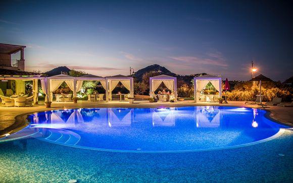 Relax in 4* dallo stile mediterraneo e spiaggia privata