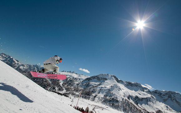Il comprensorio sciistico Alpe Lusia