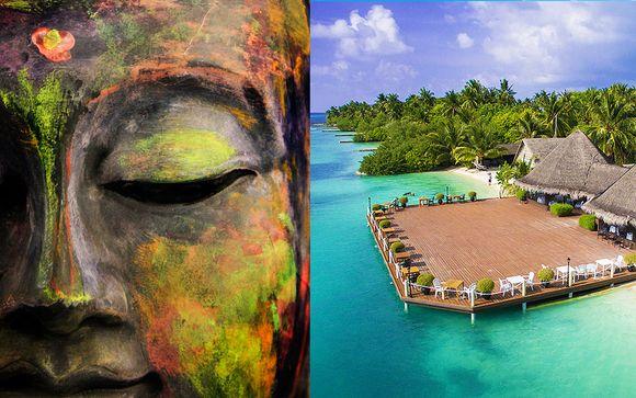Tour Sri Lanka + mare alle Maldive